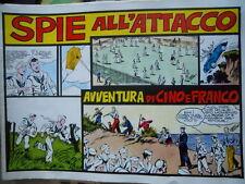 Collana Albi CINO e FRANCO 11 1940 Spie All'ATTACCO Ristampa Anastatica [G258]