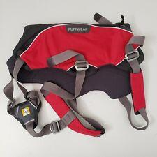 Ruffwear Web Master Pro Safe Secure Lift & Assist Dog Harness Red Size Medium
