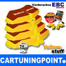 EBC PASTIGLIE FRENI ANTERIORI Yellowstuff per AUDI A6 4G2,C7,4GC dp42086r