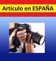 Correa soporte DOBLE Camara UNIVERSAL mano Canon Kodak Nikon pentak sony piel