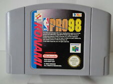 N64 juego-NBA pro 98 (PAL) (módulo)