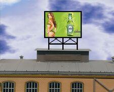 lauflichtwerbung Heineken Reklame SET für Vollmer Faller Kibri Wohnhäus
