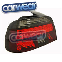 BMW E39 5-SERIES 96-00 SMOKE RED LED STYLE TAIL LIGHTS