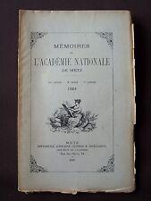 Mémoires de l'académie nationale de Metz - 1924