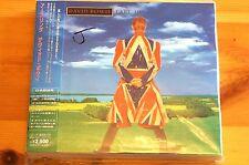 David Bowie Earthling 10 Tracks inc poster OBI Booklet Arista Japan Import