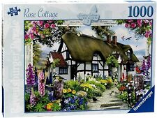 RAVENSBURGER PUZZLE*1000 TEILE*COUNTRY COTTAGE 1*ROSE COTTAGE*RARITÄT*OVP
