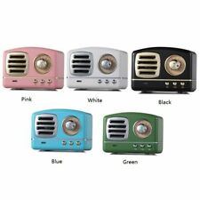 Portable Mini Retro Wireless Bluetooth Speaker Radio Usb Music Hifi Speaker