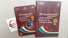 5 euro 2018 fdc ITALIA Italie Italy Italien Polizia Police Polizei Италия イタリア