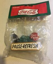 Coca-Cola Pause-Refresh Have a Coke 2002 Holiday Christmas Ornament
