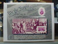 BEP souvenir card B 110 Sescal 1987 block 1938 3c Constitution Sesquicent stamp