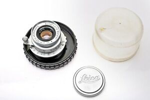 Leica 35mm f3.5 Summaron Screw Mount LTM M39 Lens+CLA'd+Youxin Ye++ SHARP++MINTY