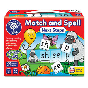 Orchard Toys Match and Spell Next Steps Educational Kids Card Game NEW