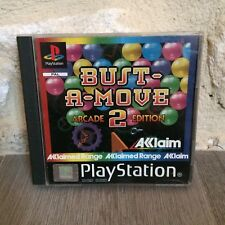 Bust a Move 2 Arcade Edition Sony Playstation PS One PS1 PSX PAL Fr Tested