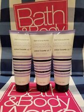NEW 3 Bath & Body Works Lavender & Sandalwood w/ Natural lavender Oil Body Cream