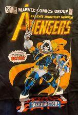 Avengers Taskmaster T-Shirt XL X-Large Black Marvel Comics New