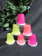Tupperware New Set 6 Multi Color Classic Midgets Minis Containers  & White Seals