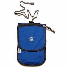 Aqua Quest Continental Travel Pouch Waterproof Passport Pocket - Blue