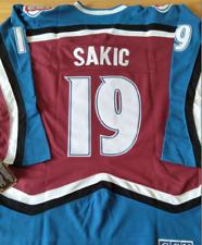 Avalanche Joe Sakic Jersey M, L, XL, 2XL,3XL