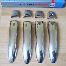 Chrom Türgriffblenden Renault Kadjar für Keylees System ( V2a ) 8 tlg.