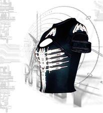 DANE Nanojet Cap Slash top  Goth Cyber Clubwear Gothic EBM Cyberpunk Darkwave