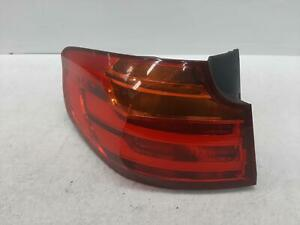 2014 BMW 3 SERIES GRAN TURISMO N/S Passengers Left Rear Outer Taillight 618573L