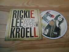 CD POP Rickie Lee Kroell-Wide Open (2) canzone MCD/4 Point 1 Rec CB