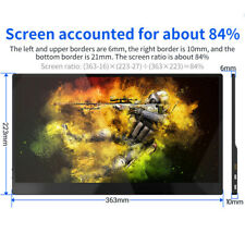Eyoyo 15.6Inch 4K Touchscreen HDR USB-C LCD Multipurpose Monitor Fit switch xbox