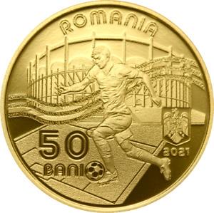 PROOF -Romania 50 bani 2021 - European Football Championship - 2020