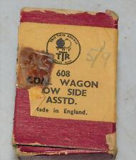 TTR TRIX TWIN RAILWAY  608 COAL WAGON LOW SIDE  BROWN #33550  OO GAUGE