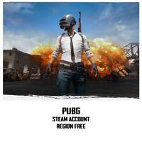 Playerunknown's Battlegrounds PUBG Steam Account