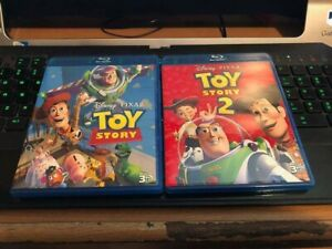 Toy Story 1 and 2 3D DISC ONLY!!! FREE SHIPPING!!!!