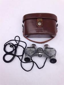Bushnell 6x15 No. 59251 J-E50 Triple Tested Mini Spy Binoculars w/Strap & Case