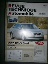 Volvo S40 V50 diesel depuis 2004 : revue technique RTA b718
