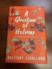 Charlotte Holmes Novel Series: A Question Of Holmes Brittany Cavallaro