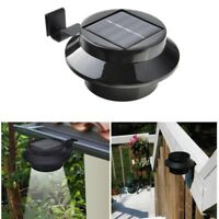 Waterproof outside Wall Garden Solar Lamp Light 3 Led iP65 Light Sensor Control