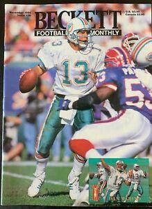 Miami Dolphins Dan Marino VTG Beckett Football Magazine (November, 1994)
