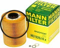 Mann BMW Oil Filter HU 926/4 x Fits E46 E36 M3 Z3 Z4 (E86/E86) 3 Series