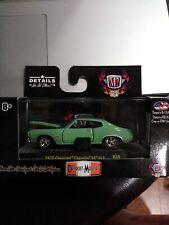M2 Detroit Muscle 1967 Chevrolet Nova SS R34 2016 GREEN/BLUE