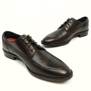 ✅💟✅$ Cole Haan Grand OS Leather Men's Dress 9M Split Apron Toe Cordovan Mint