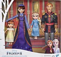 Disney Frozen 2 Arendelle Royal Family Fashion Doll Set