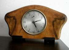 VINTAGE DIEHL ALARM MANTEL DESK CLOCK GERMANY