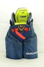 New listing Bauer Vapor 2X Ice Hockey Pants Junior Size Small Navy (0114-1761)