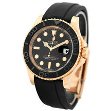 ROLEX 18K Rose Gold Yachtmaster 40mm Ceramic # 116655 Warranty Card Box MINTY