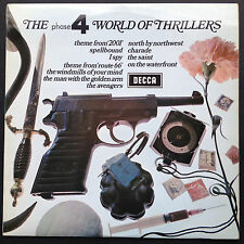Fase 4 raro mundo de thrillers película + TV bandas sonoras Bernard Herrmann Lp 71 Reino Unido