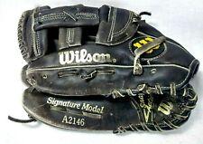 """Wilson Signature Model A2146 Kirby Puckett 12.5"""" Lht Glove Mitt 56-18"""