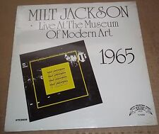 MILT JACKSON Live At The Museum Of Modern Art 1965 - Trip Jazz TLP-5553 SEALED