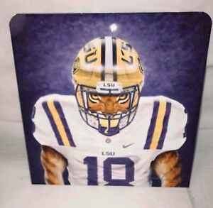 Caminita Wildlife Tiger Football Metal Picture with Stand