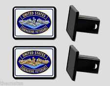 USSVI SUBMARINE VETERAN INSIGNIA NAVY TRAILER HITCH COVER MADE IN USA