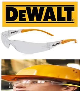 DeWalt  Contractor Pro Clear Safety Glasses safety specs UV PROTECTION DEWSGCPC