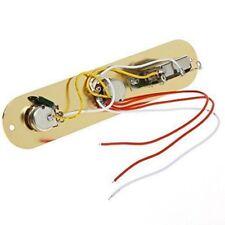 Gold 3 Way Prewired Control Plate Kabelbaum Schalter für TL Tele Telecaster